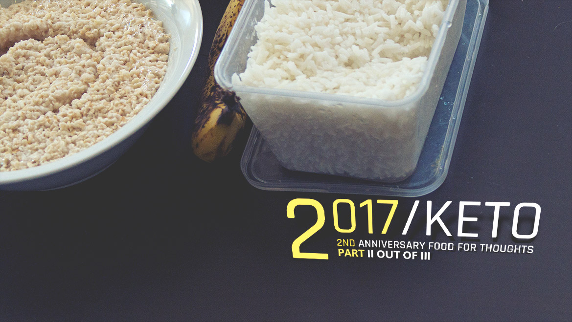 2017 Food for thoughts Keto anniversary (CKD) Part 2/3
